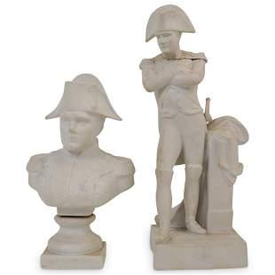 Bisque Porcelain Napoleon Figures