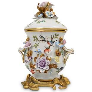 Sevres Porcelain Lidded Bowl