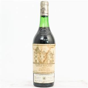 1976 Chateau Haut Brion Wine Bottle