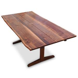 George Nakashima Exceptional Conoid Dining Table