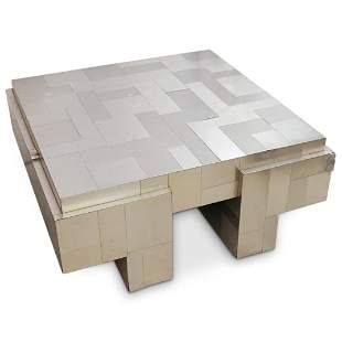 """Paul Evans Style """"Cityscape"""" Coffee Table"""