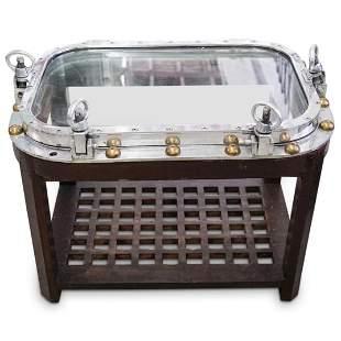 Porthole Table - Oval