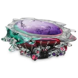 Leon Applebaum (American) Textured Glass Bowl
