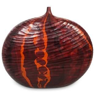 Massimo Micheluzzi (B. 1957) Murano Glass Vessel
