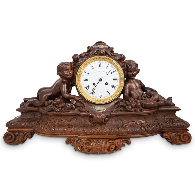 H. Moser & Cie. Russian Wood Mantel Clock