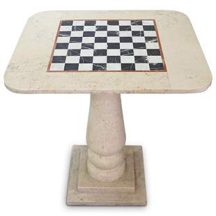 Marble Chess Game Table