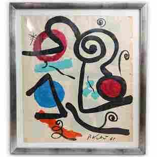 Peter Keil (German, 1942) Abstract Painting
