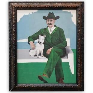 E. Doolittle Oil On Canvas Painting