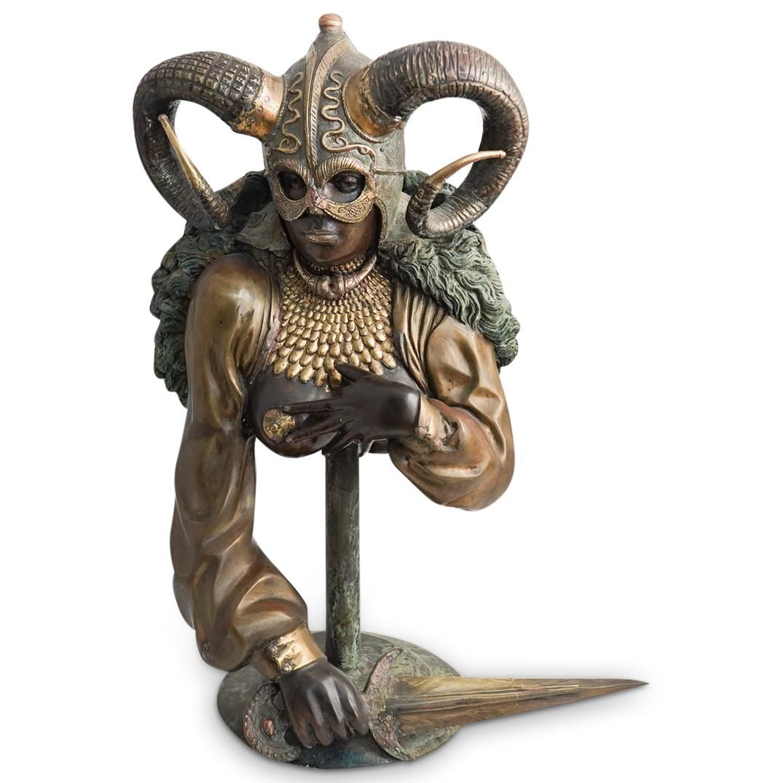 Figural Erotic Valkyrie Bronze