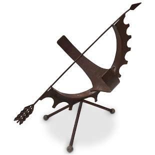 Antique Bronze Armillary Sundial