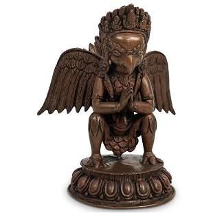 Himalayan Garuda God Bronze Statue