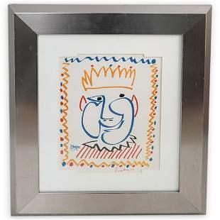 Pablo Picasso Signed Book Lithograph