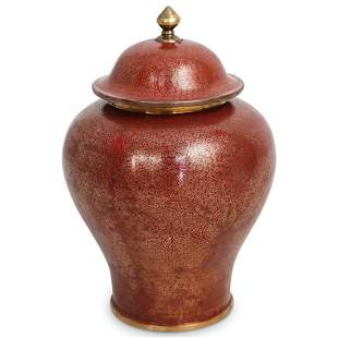 Antique Chinese Cloisonne Urn