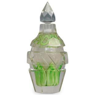 Steuben Cintra Paperweight Style Cologne Bottle