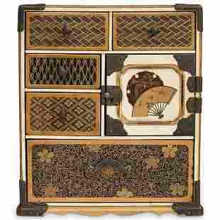 Japanese Meiji Lacquer Kodansu
