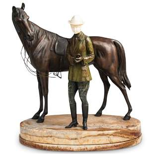 Bruno Zach Bronze Horse Sculpture