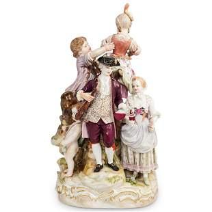 19th Cent. Meissen Porcelain Group