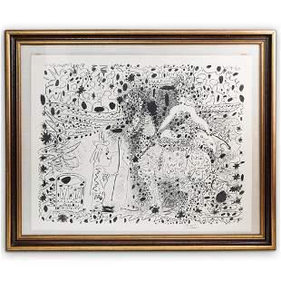 Pablo Picasso (Spanish, 1881-1973) L'Ecuyere Litho