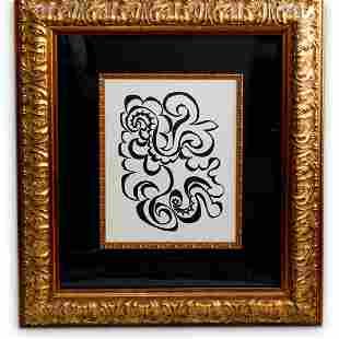 Pablo Picasso (1882-1973) Ambroise Vollard Woodcut