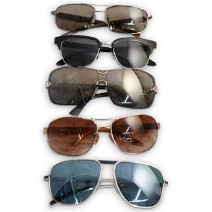(5 Pc) Group of Designer Sunglasses