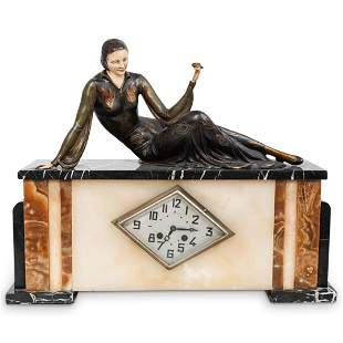 French Art Deco Mantle Clock