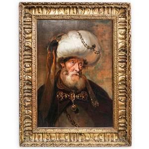 Karl Van Mander III (Circa 1610-1670) Oil on Panel