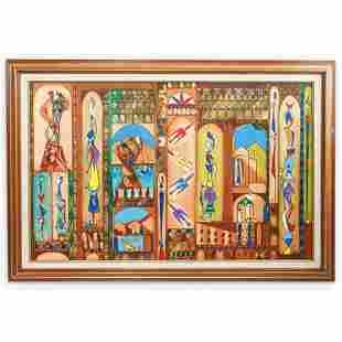 Jose Maria Mijares (Cuban, 1921-2004) Oil On canvas