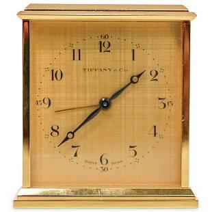 Tiffany & Co. 8 Day Desk Clock
