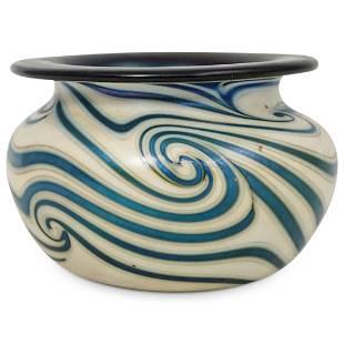 Vintage Lotton Art Glass Bowl