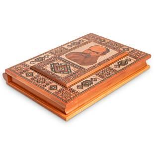 Oriental Inlaid Wood Box