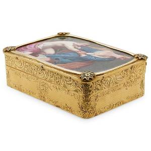 French 18th Cent. 18kt Gold Box