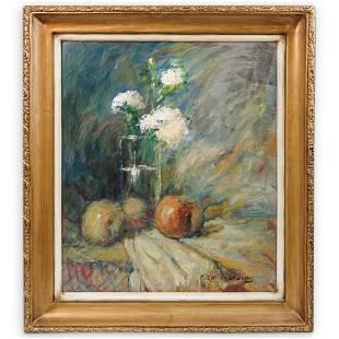 Signed Still Life Original Painting