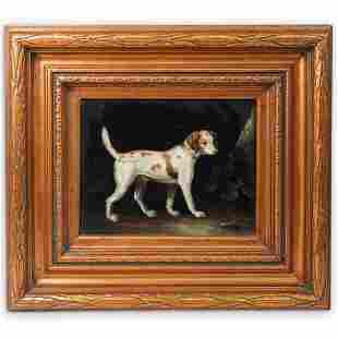 John Gray (England,1885-1904) Oil On Canvas
