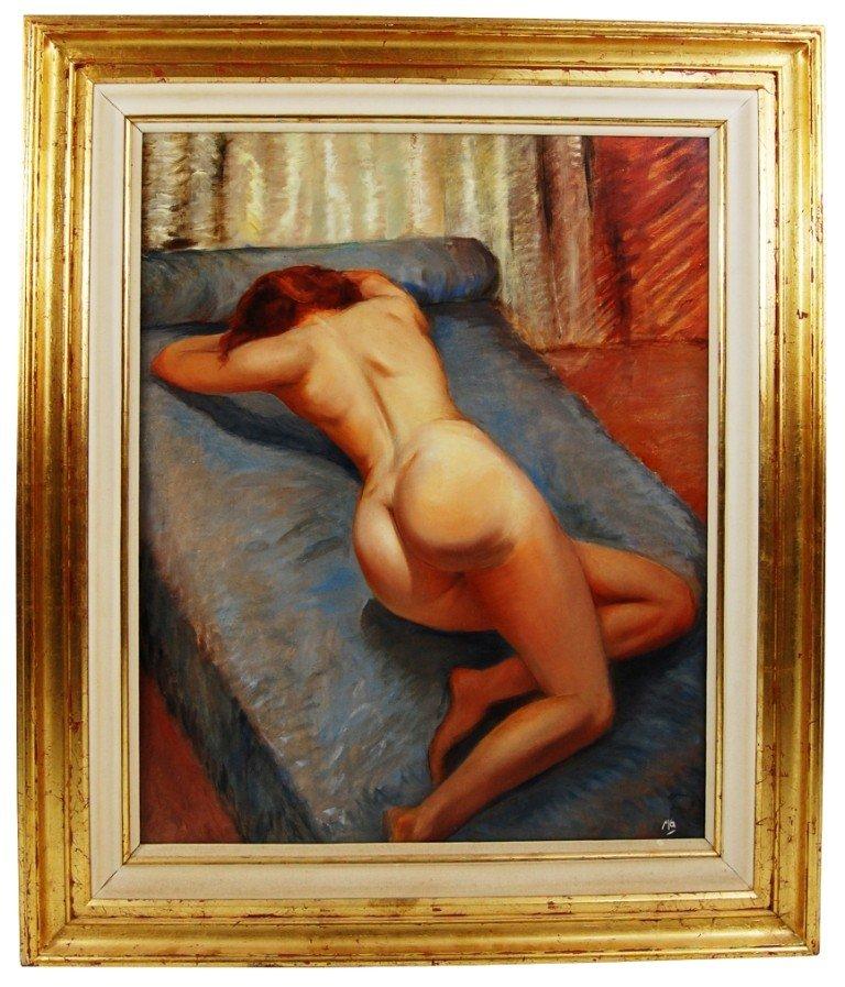 148: Marc Olivier Gregoire (1906-1996) oil on wood