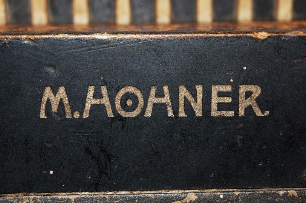 263: Vintage M. Hohner accordion - 4