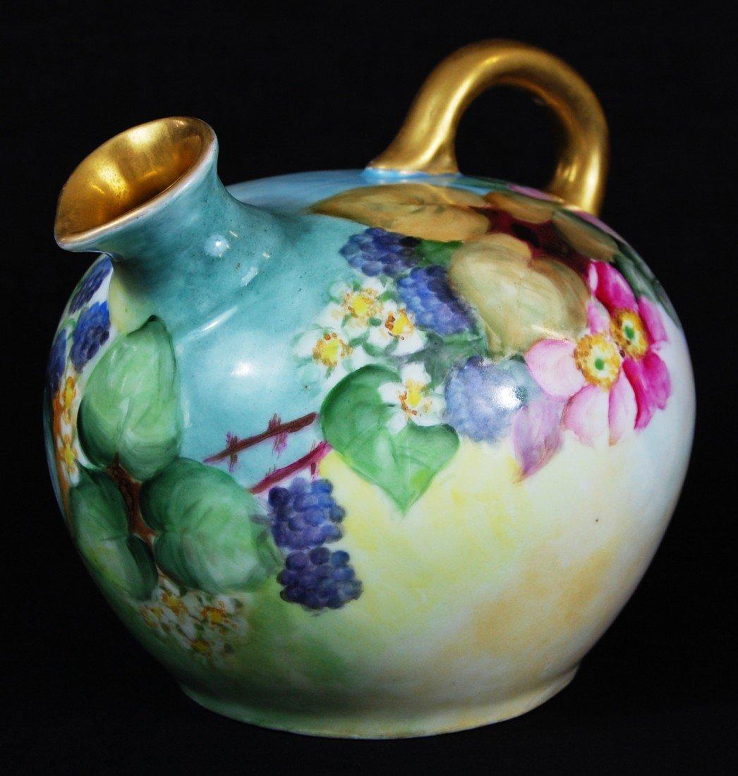 1: Porcelain tea pot. Marked Vienna Austria