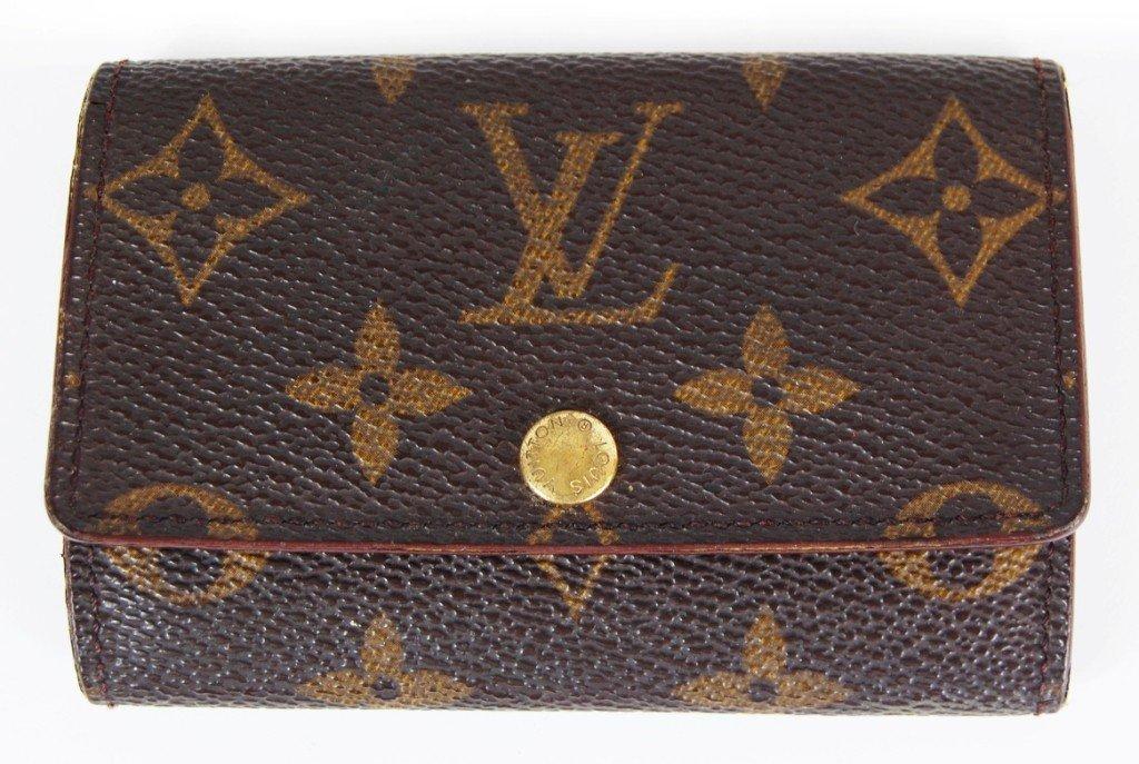 10: Vintage Louis Vuitton key holder.