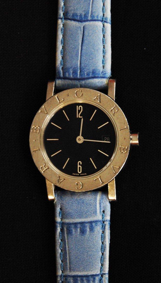 12: Ladies Bulgari Quartz stainless steel watch