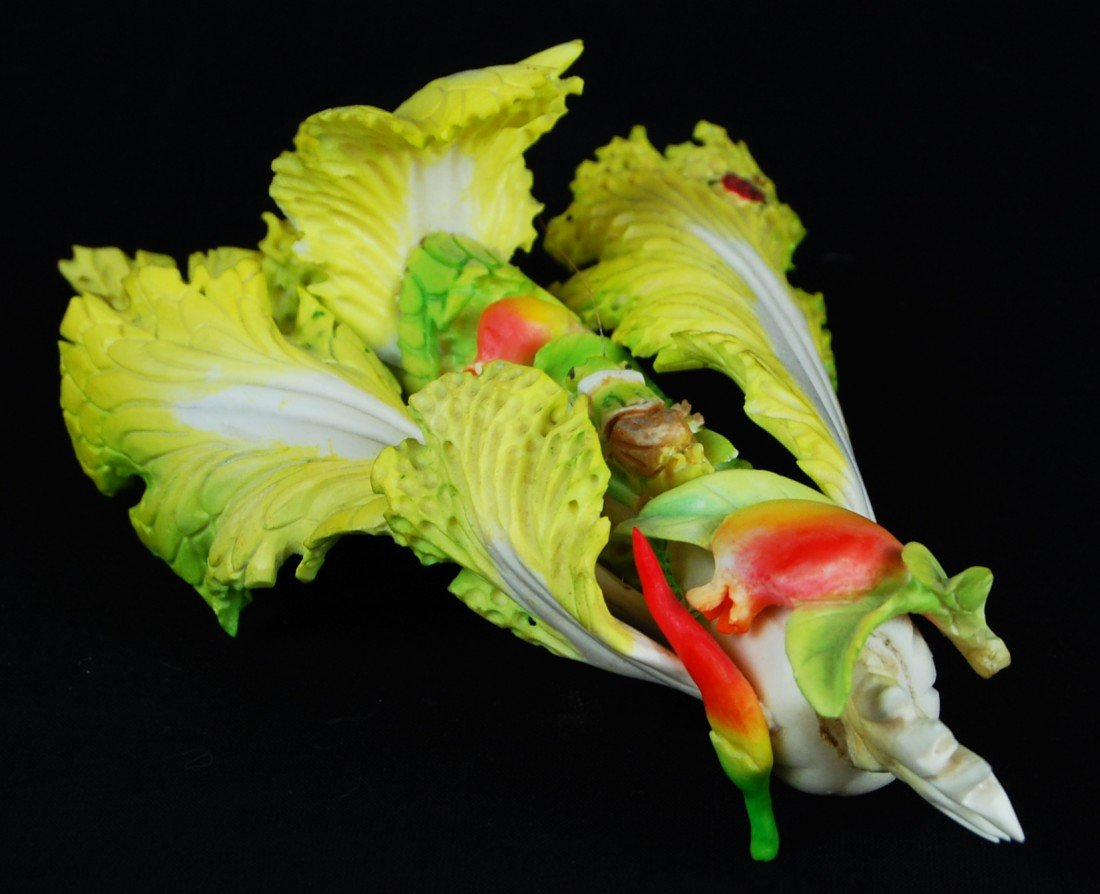 24: Chinese ivory colored lettuce leaf