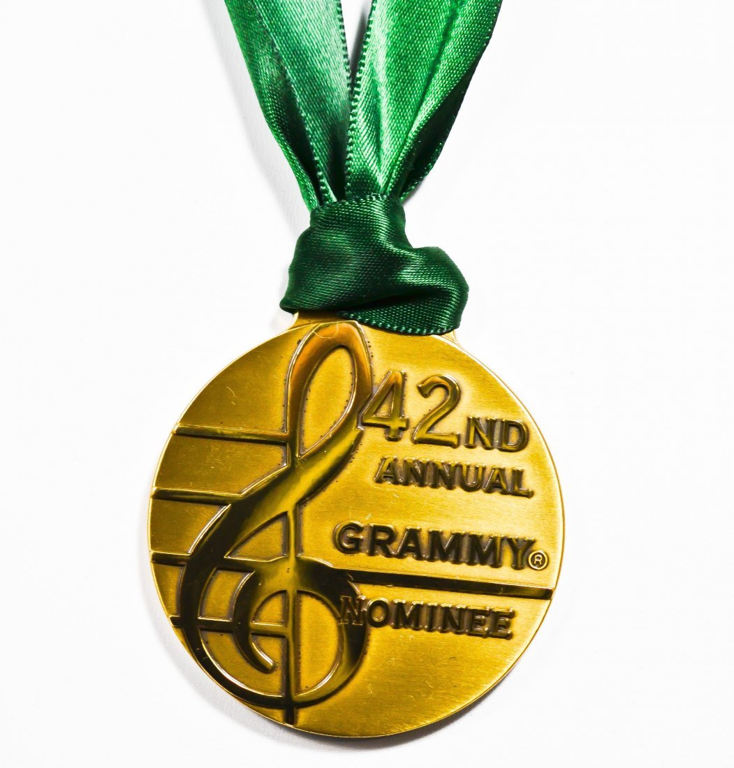 2: Tiffany & Co 42nd grammy nominee medal