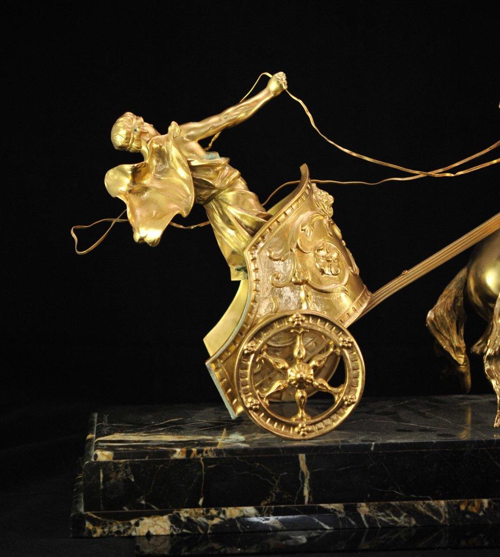 """""""Domenech et Pfeffer"""" sculpture """"Char de la Victoire"""" - 2"""