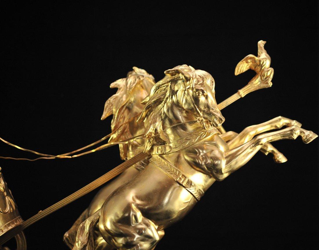 """""""Domenech et Pfeffer"""" sculpture """"Char de la Victoire"""" - 3"""