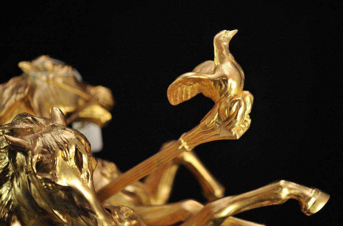 """""""Domenech et Pfeffer"""" sculpture """"Char de la Victoire"""" - 4"""
