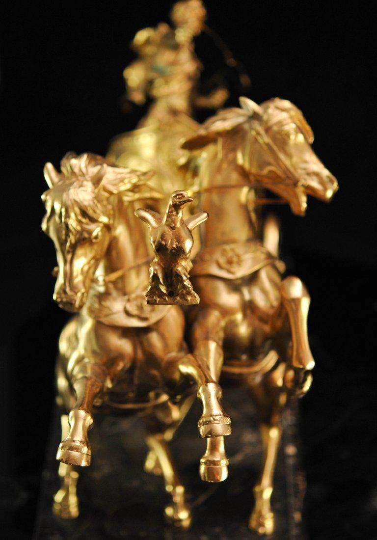 """""""Domenech et Pfeffer"""" sculpture """"Char de la Victoire"""" - 7"""
