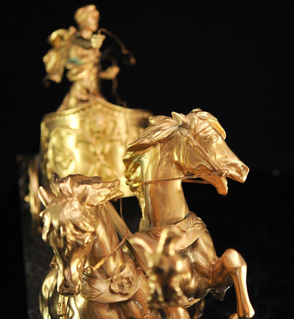 """""""Domenech et Pfeffer"""" sculpture """"Char de la Victoire"""" - 8"""