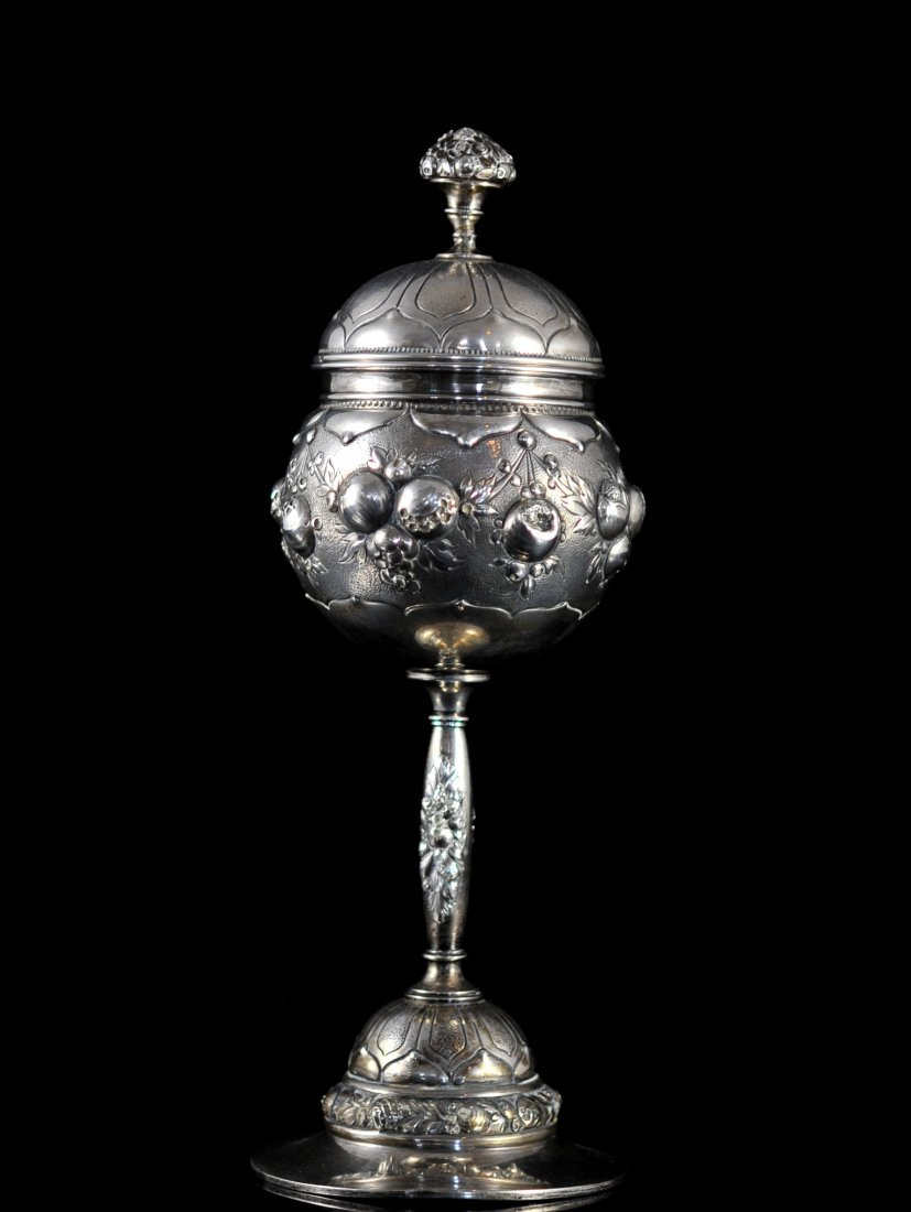 Antique Spanish 800 Silver Chalice
