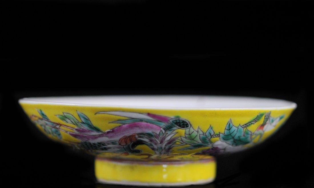 Antique Chinese Porcelain Sauce Bowl