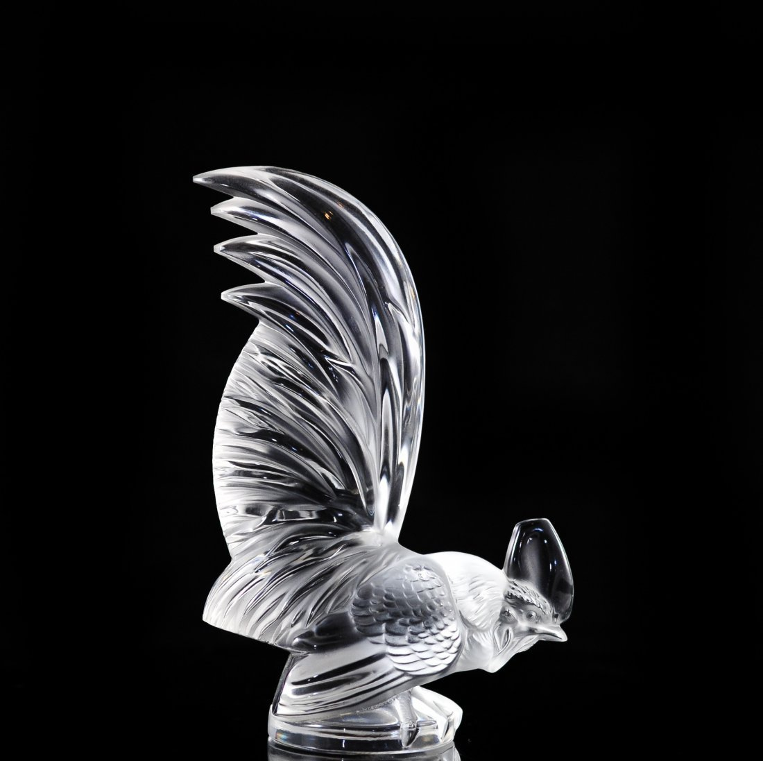 "Lalique ""Rooster"" Paperweight"