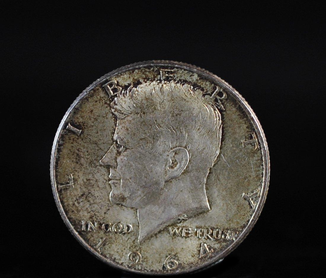 1964 John F. Kennedy Silver Half Dollar