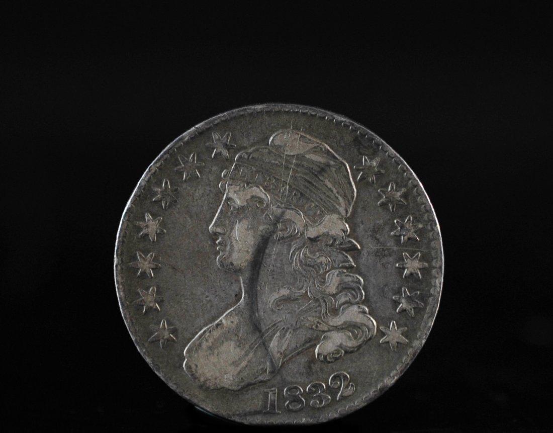 1832 Liberty Capped Half Dollar